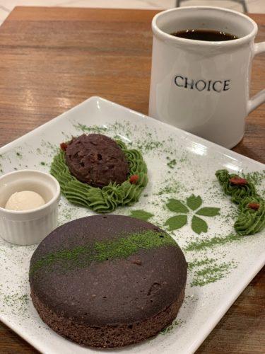ブラックソルガムのパンケーキ@京都CHOICE (グルテンフリー&ヴィーガンカフェ)